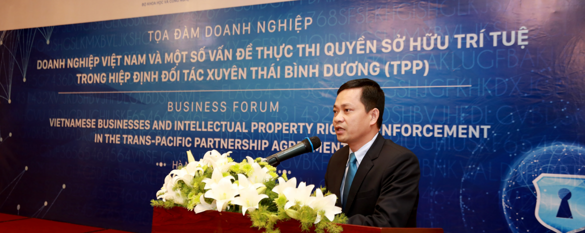 Enforcement of intellectual property rights in Vietnam is still limited
