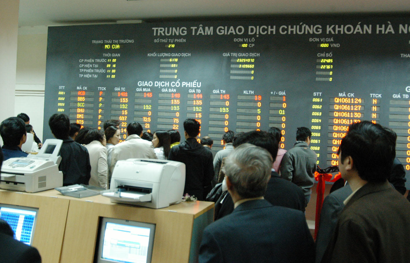 Ghost rumors on stock markets
