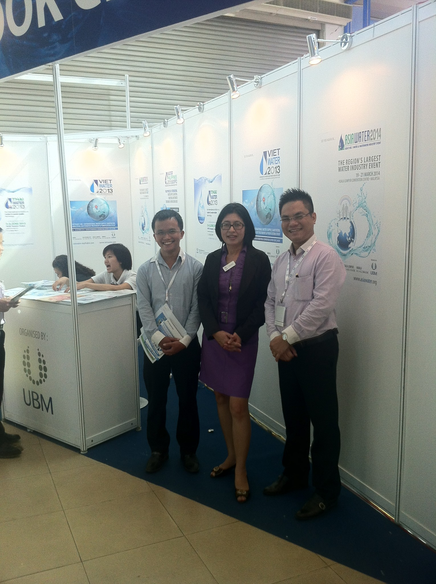 Discussion with partner UBM