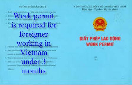 Vietnam working Visa