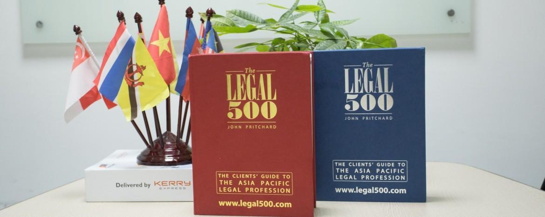 International Award for Vietnam Law Firm