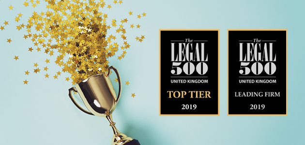 Congrats on our new Legal 500 rankings!