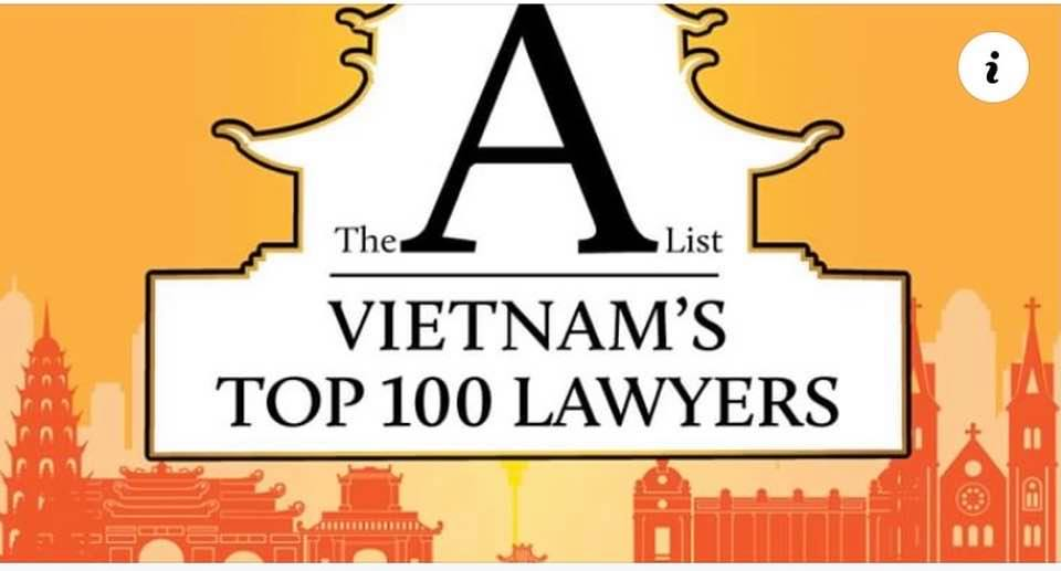 Lawyer Nguyen Thanh Ha is named in the List A Vietnam's top 100 lawyers