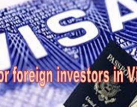 Procedures for business visa and investor visa in Vietnam